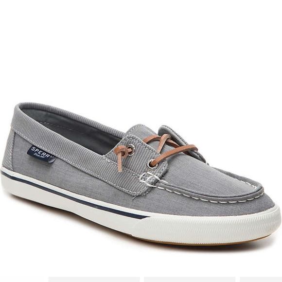 Top Sider Lounge Away Boat Shoe Gray